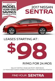 nissan sentra lease price lease specials pine belt nissan of toms river