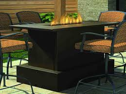High Dining Patio Sets - 42 fire pit dining table set fire tables propane fire pit tables