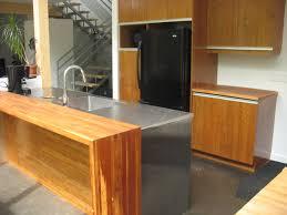 comptoir cuisine bois dessus de comptoir en bois fashion designs