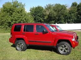 lifted jeep red jeep liberty kk lifted wallpaper 1024x768 36288