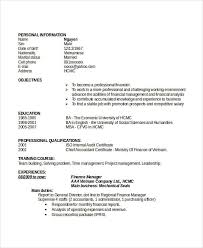 Audit Manager Resume Professional Manager Resume 49 Free Word Pdf Documents