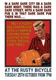 halloween quiz at the rusty u2014 dodo pub co