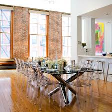 home decor fetching lucite dining chairs perfect with kartell