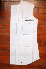shirt pattern cutting pdf four square walls archer shirt variation v neck placket