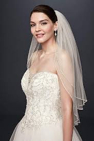 bridal veil wedding veils in various styles david s bridal