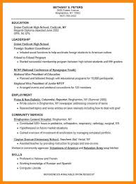 Army Resume Example by College Resumes Examples Good Resume Sample For College Student