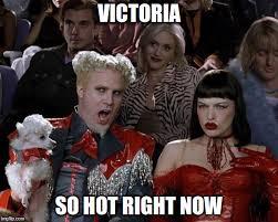 Victoria Meme - hotter than bernie sanders imgflip