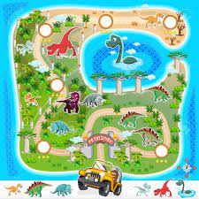 Islands Of Adventure Map Prehistoric Zoo Map Collection 01 Royalty Free Cliparts Vectors