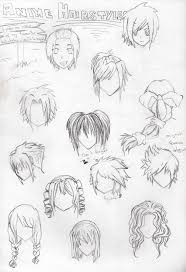 102 best anime hair images on pinterest drawing tips drawing