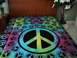 Girls Peace Sign Bedding by Girls Peace Sign Bedding Home Design Ideas