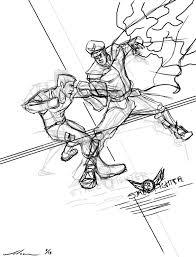 christopher wilson developments new poster sketch street fighter