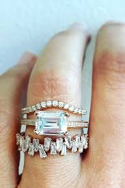Does The Wedding Band Go Before The Engagement Ring by Best 25 Emerald Cut Ideas On Pinterest Emerald Cut Engagement