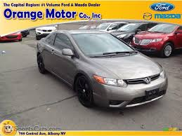 grey honda civic 2007 honda civic lx coupe in galaxy gray metallic 511566