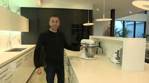 awarded best kitchen in the world island appliance garage using