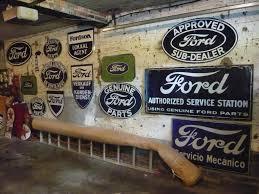 Antique Ford Truck Art - garage art the ford barn