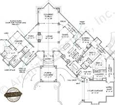 house plan lake home plans narrow lot in lakefront house 4170