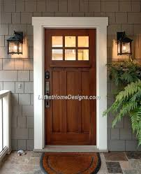 Wood Exterior Doors For Sale Wooden House Doors 6 Lite Stained Mahogany Wood Front Door With