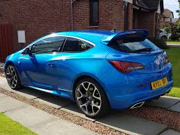 vauxhall blue vauxhall astra vxr spotted pistonheads