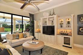 Console Bookshelves by Media Centers With Bookshelves Family Room Modern With Tv Above