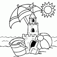 beach coloring pages preschool attractive summer coloring pages for preschool drawing vacation a