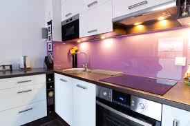 two tone glass kitchen splashback creoglass pink ganesha idolza