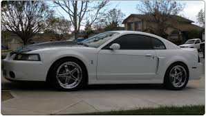 Mustang Black Rims 99 04 Mustang Black And White Mustang Godspeed Ultra Deep Dish
