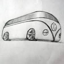 hippie volkswagen drawing vwbus explore vwbus on deviantart