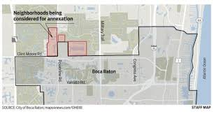 Boca Raton Map Annexation U2026 Let The Residents Be Heard U2013 Boca Watch