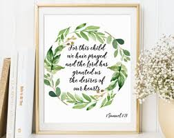 Baby Verses For Baby Shower - baby bible verse etsy