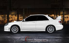 subaru wrx modified wallpaper white 2006 subaru impreza wrx sti hd desktop wallpaper