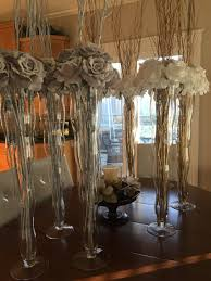 3 vases centerpieces my sister u0027s wedding diy decor u2014 the penny drawer