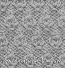 free hazelnut stitch knitting pattern abbreviations k knit p