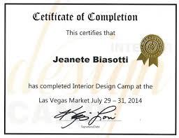 online design of certificate interior design certification interior design certificate online