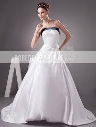 robe de mari e bicolore bicolore robe de mariée bustier pailletée sans bretelle robe pas