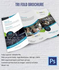 tri fold brochure template pdf vacation brochure template 15 free