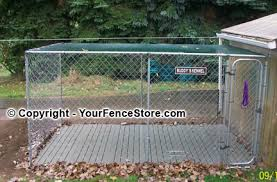 kennels run and pet containment