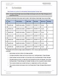 sow template statement of work ms word excel template