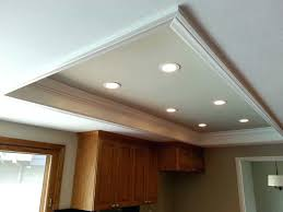 recessed lighting ideas for kitchen the custom recessed lights replace fluorescent light box