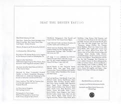 beat the devil u0027s tattoo black rebel motorcycle club