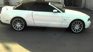 Silver Mustang Black Wheels 877 544 8473 20