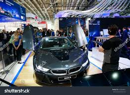 Bmw I8 Roadster - hannover germany march 2017 selfdriving bmw stock photo 616324661