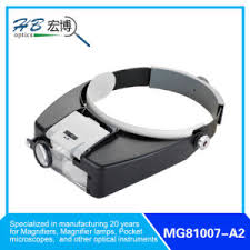 small magnifier with light china 2led light head magnifier with one additional small lenses