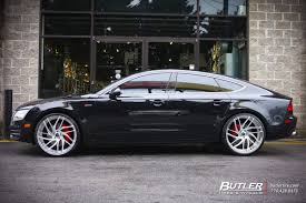 audi a7 rims audi a7 with 22in savini sv62d wheels exclusively from butler