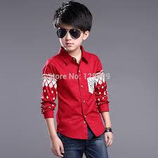 aliexpress buy boys shirts cotton fashion children clothing