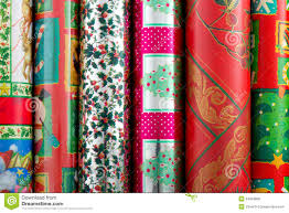 rolls of wrapping paper christmas wrapping paper royalty free stock photos image 24093908