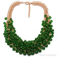 bib necklace crystal images Wholesale 2018 high quality hot sale z fashion necklace xg134 jpg