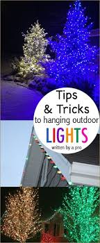how to put christmas lights on a outdoor tree 291 best christmas lights outside decor images on pinterest