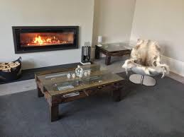 reclaimed wood coffee table design pictures octagon glas thippo