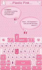 go keyboard theme apk plastic pink go keyboard theme android apps on play