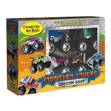 childrens monster truck videos cakes creativity for kids monster truck custom shop activity